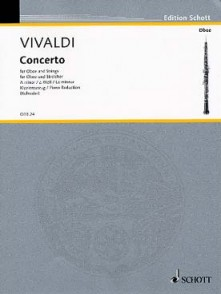 VIVALDI A. CONCERTO LA MINEUR HAUTBOIS