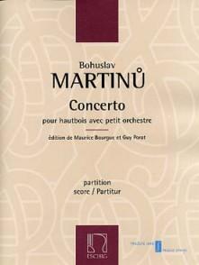 MARTINU B. CONCERTO HAUTBOIS CONDUCTEUR