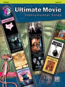 ULTIMATE MOVIE INSTRUMENTAL SOLOS CLARINETTE