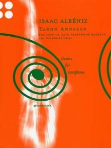 ALBENIZ I. TANGO ANDALUZ SAXOPHONES