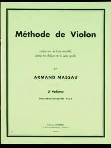 MASSAU A. METHODE DE VIOLON VOL 3