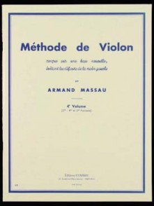 MASSAU A. METHODE DE VIOLON VOL 4