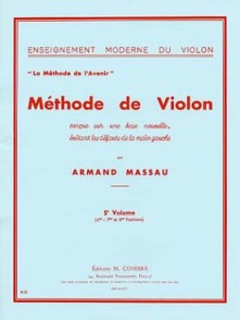 MASSAU A. METHODE DE VIOLON VOL 5