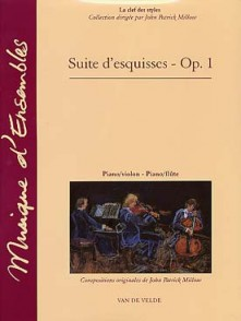 MILLOW J.P. SUITE D'ESQUISSES OP 1 VIOLON