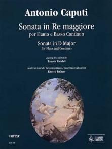 CAPUTI A. SONATE EN RE MAJEUR FLUTE