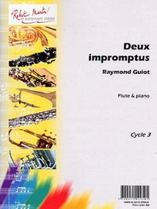 GUIOT R. DEUX IMPROMPTUS FLUTE