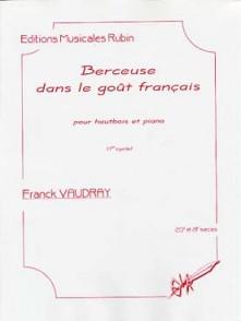 VAUDRAY F. BERCEUSE DANS LE GOUT FRANCAIS HAUTBOIS