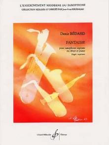 BEDARD D. FANTAISIE SAXO SOPRANO