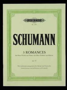 SCHUMANN R. ROMANCES OP 94 HAUTBOIS