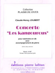 JOUBERT C.H. CONCERTO LES KANGOUROUS CLARINETTE