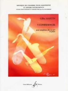 MARTIN G. 5 CONFIDENCES SAXO ALTO