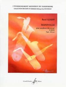 GOEPP R. MANIVELLE SAXO ALTO