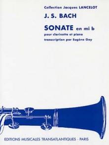 BACH J.S. SONATE MIB SAXO