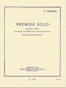 BOURDEAU E. PREMIER SOLO DE BASSON