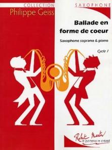 GEISS P. BALLADE EN FORME DE COEUR SAXO SOPRANO