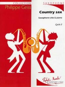 GEISS P. COUNTRY SAX SAXO ALTO