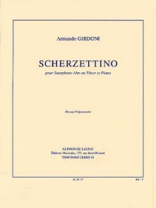 GHIDONI A. SCHERZETTINO SAXO SIB