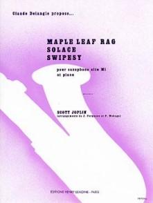JOPLIN S. MAPLE LEAF RAG - SOLACE -SWIPESY SAXO MIB
