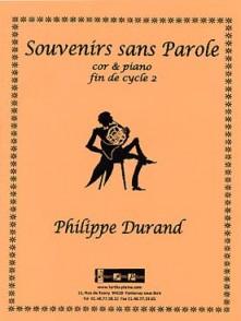DURAND P. SOUVENIRS SANS PAROLE COR