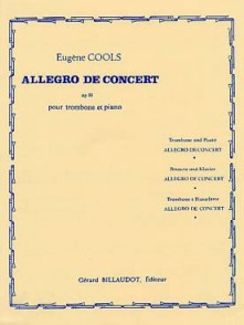 COOLS E. ALLEGRO DE CONCERT OP 81 TROMBONE
