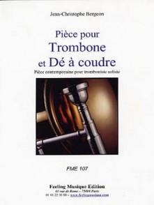 BERGEON J.C. PIECE POUR TROMBONE & DE A COUDRE
