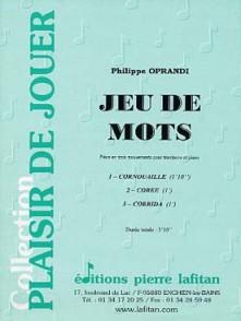 OPRANDI P. JEU DE MOTS TROMBONE