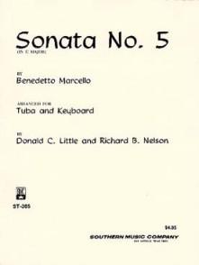 MARCELLO B. SONATE N°5 TUBA