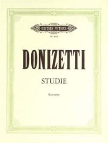 DONIZETTI G. ETUDE CLARINETTE