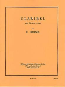 BOZZA E. CLARIBEL CLARINETTE