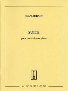 AUBAIN J. SUITE POUR PERCUSSION