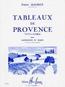 MAURICE P. TABLEAUX DE PROVENCE SAXO MIB