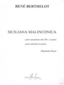 BERTHELOT R. SICILIANO MALINCONICA SAXO MIB