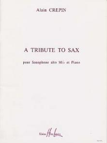 CREPIN A. A TRIBUTE TO SAX SAXO MIB