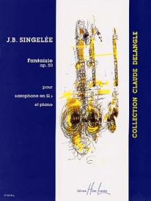 SINGELE J.B. FANTAISIE OP 50 SAXO SIB