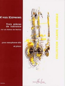 VAN KLAVEREN W. PIECES DE FANTAISIES SAXO MIB