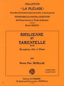 DEMILLAC F.P. SICILIENNE ET TARENTELLE SAXO MIB
