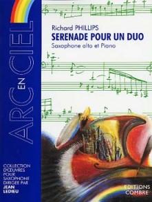 PHILLIPS R. SERENADE POUR UN DUO SAXO MIB