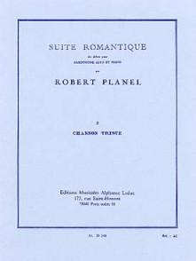 PLANEL R. SUITE ROMANTIQUE N°3 SAXO MIB