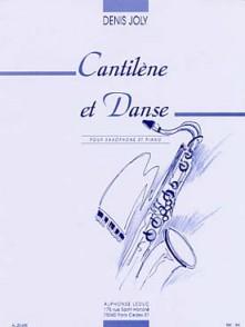 JOLY D. CANTILENE ET DANSE SAXO MIB