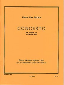 DUBOIS P.M. CONCERTO SAXO MIB