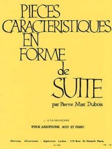 DUBOIS P.M. PIECE CARACTERISTIQUE EN FORME DE SUITE N°3 SAXO