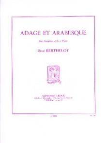 BERTHELOT R. ADAGE ET ARABESQUE SAXO MIB