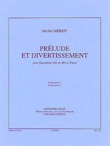 MERIOT M. PRELUDE ET DIVERTISSEMENT SAXO MIB