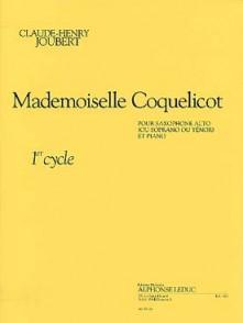 JOUBERT C.H. MADEMOISELLE COQUELICOT SAXO MIB