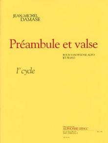 DAMASE J.M. PREAMBULE ET VALSE SAXO MIB