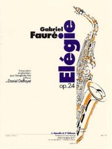FAURE G. ELEGIE OP 24 SAXO MIB