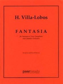 VILLA-LOBOS H. FANTASIA SAXO SIB