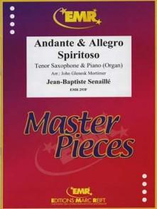 SENAILLE J.B. ANDANTE - ALLEGRO SPIRITO SAXO SIB