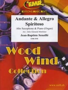 SENAILLE J.B. ANDANTE - ALLEGRO SPIRITO SAXO MIB