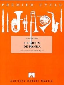CREPIN A. LES JEUX DE PANDA SAXO MIB